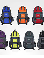 New Outdoor Travel Mountaineering Bags 50L Waterproof Nylon Backpack