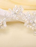 Imitatie Parel Vrouwen Helm Bruiloft/Speciale gelegenheden Bloemen Bruiloft/Speciale gelegenheden 1 Stuk