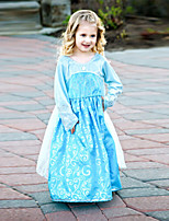 Girl's Organza Dress , All Seasons Long Sleeve