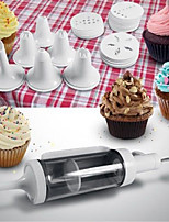Cake Icing Piping Syringe Kit Dessert Frosting Dispenser