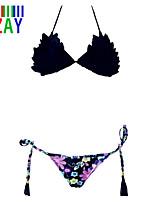 ZAY Women's Sweet Sexy Halter Bikinis Swimming Set