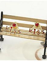 Korean Jewelry Diamond Earrings Lovely Letter Kiss