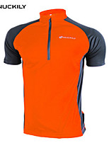 Unisex Short Sleeve  Cycling Tops Waterproof/Breathable Totally Waterproof Moisture PermeabilityQuick Dry