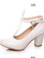 Women's Shoes Synthetic Kitten Heel Heels/Basic Pump Pumps/Heels Office &