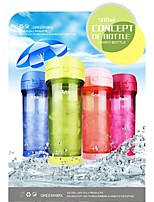 500ML PP Material Water Bottle (4 Colors) for Cycling/Hiking/Fishing