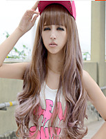 Heat Resistant Rhapsody Women's Fashion Synthetic Hair Curly Wavy Long Ombre Cosplay Wig