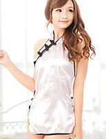Women Satin & Silk/Uniforms & Cheongsams Nightwear , Polyester