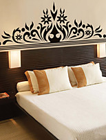Wall Stickers Wall Decals Style Black Corolla Beautifully Decorated PVC Wall Stickers
