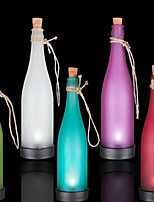 Pack of 5 Solar Bottle Lamp LED Decoration Light Interspersion Pendant Light Multicolor