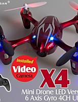 HUBSAN X4 H107C 2.4G 4CH MINI RC HELI QUADCOPTER CAMERA VIDEO RECORD 13-0042
