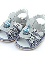 Baby Shoes Casual Fabric Sandals Gray