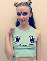 Women's Angry Squirtle Crop Top