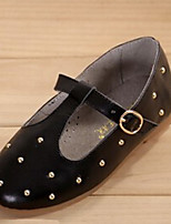 Girls' Shoes Casual T-Strap  Flats Black/Gold