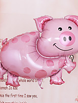 Pink Piggy Shape Helium Balloon for Baby Birthday Party