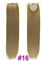 55cm 90g Straight Ribbon Ponytail #16