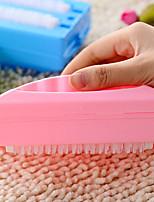 Double Roller Carpet Brush Sweeper Crumbs Collector Floor Car Crumb Cleaner (Random Color)