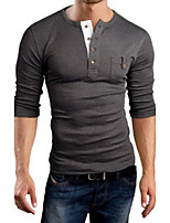 Men's Slim Casual Long Sleeve T-Shirts