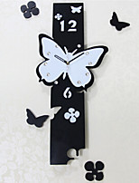 Simple Butterfly Wall Clock