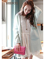 Women's Casual Stretchy Medium Long Sleeve Cardigan (Knitwear) SF7B82