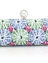 Handbag Metal Evening Handbags/Clutches/Mini-Bags/Wallets & Accessories With Floral Print