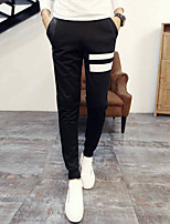 Men's Chinos , Casual Striped Others