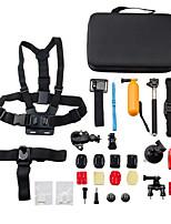 15 in 1 Sports Camera Accessories Kit for GoPro Hero 4/3+/3/2/1/sj4000/sj5000/sj6000/xiaomi yi