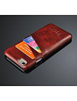 Für iPhone 7 Hülle / iPhone 7 Plus Hülle / iPhone 6 Hülle / iPhone 6 Plus Hülle Kreditkartenfächer Hülle Rückseitenabdeckung Hülle