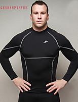 2015 Men Sports Tights Fitness T-shirt