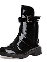 Women's Shoes Low Heel Fashion Boots Boots Casual Black/Khaki