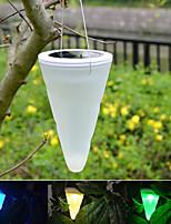 Solar Outdoor Garden Hanging Tree Cornet Cone LED Lights  Landscape Lighting Pathway Stairway