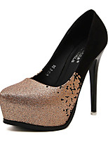 Women's Shoes  Stiletto Heel Heels/Pointed Toe Pumps/Heels Casual Silver/Gold