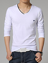 Men's Casual Long Sleeve Regular T-Shirt