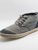 Scarpe da uomo - Sneakers alla moda - Casual - Tessuto - Nero / Blu / Grigio