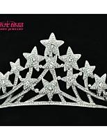 Neoglory Jewelry Star Tiaras Crystals Crowns Bridal Hair Accessories Women Wedding Jewelry Headpeice Headband