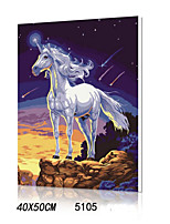 DIY Digital Oil Painting With Solid Wooden Frame Family Fun Painting All By Myself    Pegasus 5105