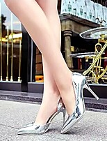 Amir 2015 Hot Sale Women's Shoes Patent Leather Stiletto Heel Heels Pumps Party & Evening/Dress White/Silver/Gray