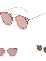 100% moda senderismo UV400 gafas de sol de espejo de colores