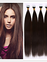 PU Skin Weft/Tape In Hair Extension Virgin Human Hair Keratin Fusion Capsule Hair 2.5G/Strand 100G/PC 1PC/LOT In Stock