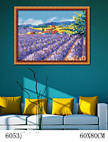 DIY Digital Oil Painting  Large Size Without Frame  Family Fun Painting All By Myself     Lavender 6053