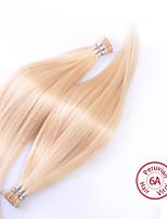 evet cheveux raides vierge péruvienne droit soyeux péruvien i lève extensions de cheveux humains cheveux 100g / pc