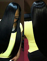 Lace Front Wigs Malaysian Virgin Hair Straight Malaysian Lace Front Human Hair Wigs For American Black Women 8
