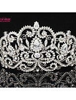 Neoglory Jewelry Big Royal Tiaras Crystals Crowns Bridal Hair Accessories Women Wedding Jewelry Headpeice Headband