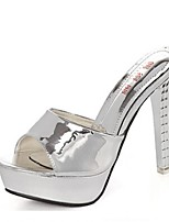 Women's Shoes Stiletto Heel Heels Sandals Casual Silver/Gold