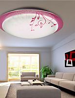 Flush Mount LED Modern/Contemporary Living Room/Bedroom/Study Room/Office PVC
