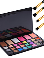 Pro 30 Colors Composite Palette with 24 Eyeshadow 3 Concealer 3 Blusher Makeup Kit Set+4PCS Pencil Makeup Brush
