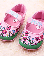 Baby Shoes - Casual - Ballerine - Tessuto - Rosa / Neutro