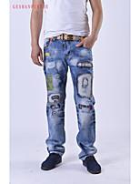 2015 High Quality Men's Cotton Jeans