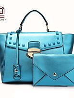 Handcee® Most Popular Shining Patent Woman PU Newest Fashion Tote Bag