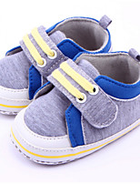 Baby Shoes Casual Fabric Fashion Sneakers Blue/Gray