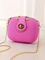 Women 's PU Evening Bag - White/Pink/Purple/Blue/Silver/Black
